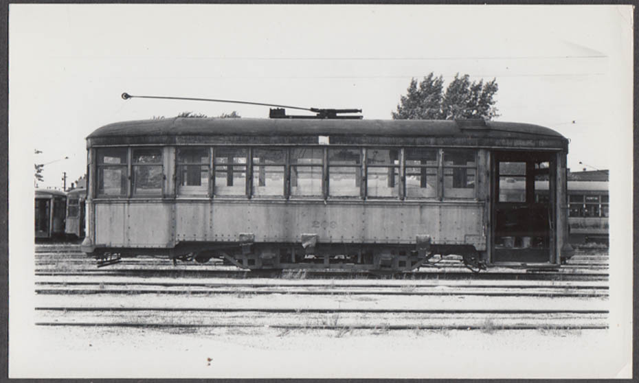 Image for Indiana Service Corporation Sand Car #209 Fort Wayne Shops photograph 1936