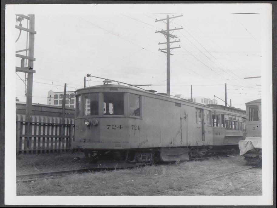 Image for Denver Tramway Denver CO plow car #724 photograph