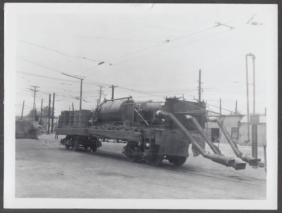 Image for Denver Tramway Denver CO fuel service car photograph