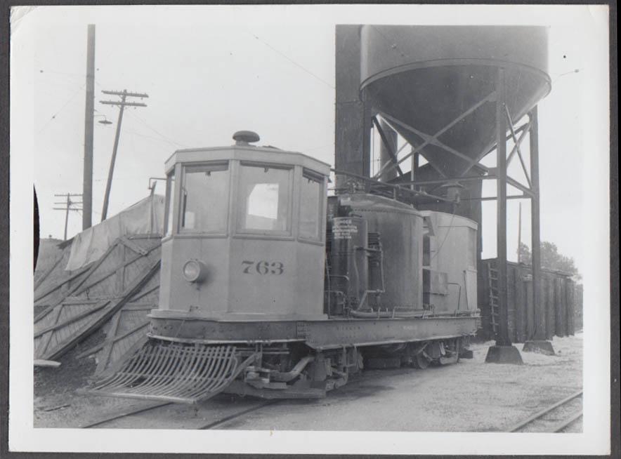 Image for Denver Tramway Denver CO service car #763 photograph