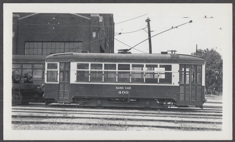 Image for Indiana Service Corporation Sand Car #400 at Fort Wayne Shops photograph 1937