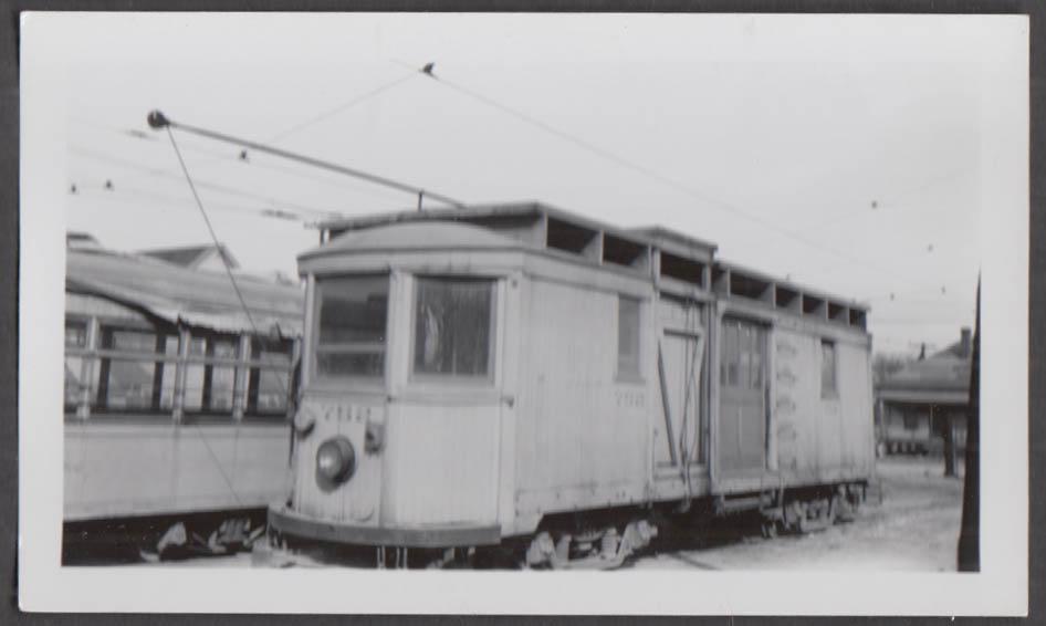 Image for Birmingham Electric Company railway work car #752 photograph AL