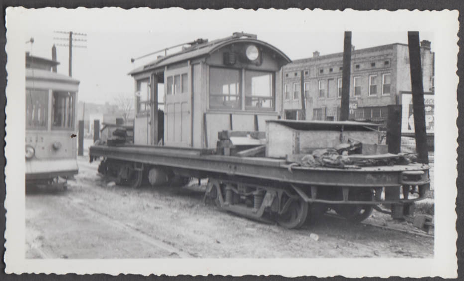 Image for Birmingham Electric Company railway work car #754 photograph AL