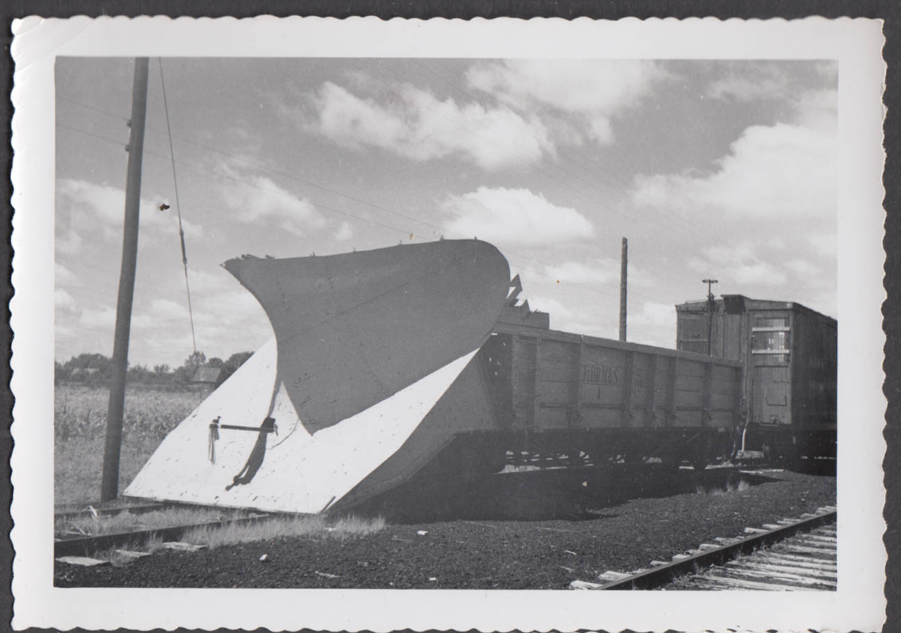 Image for Fort Dodge Des Moines & Southern Railway Snow Plow gondola #1 photograph