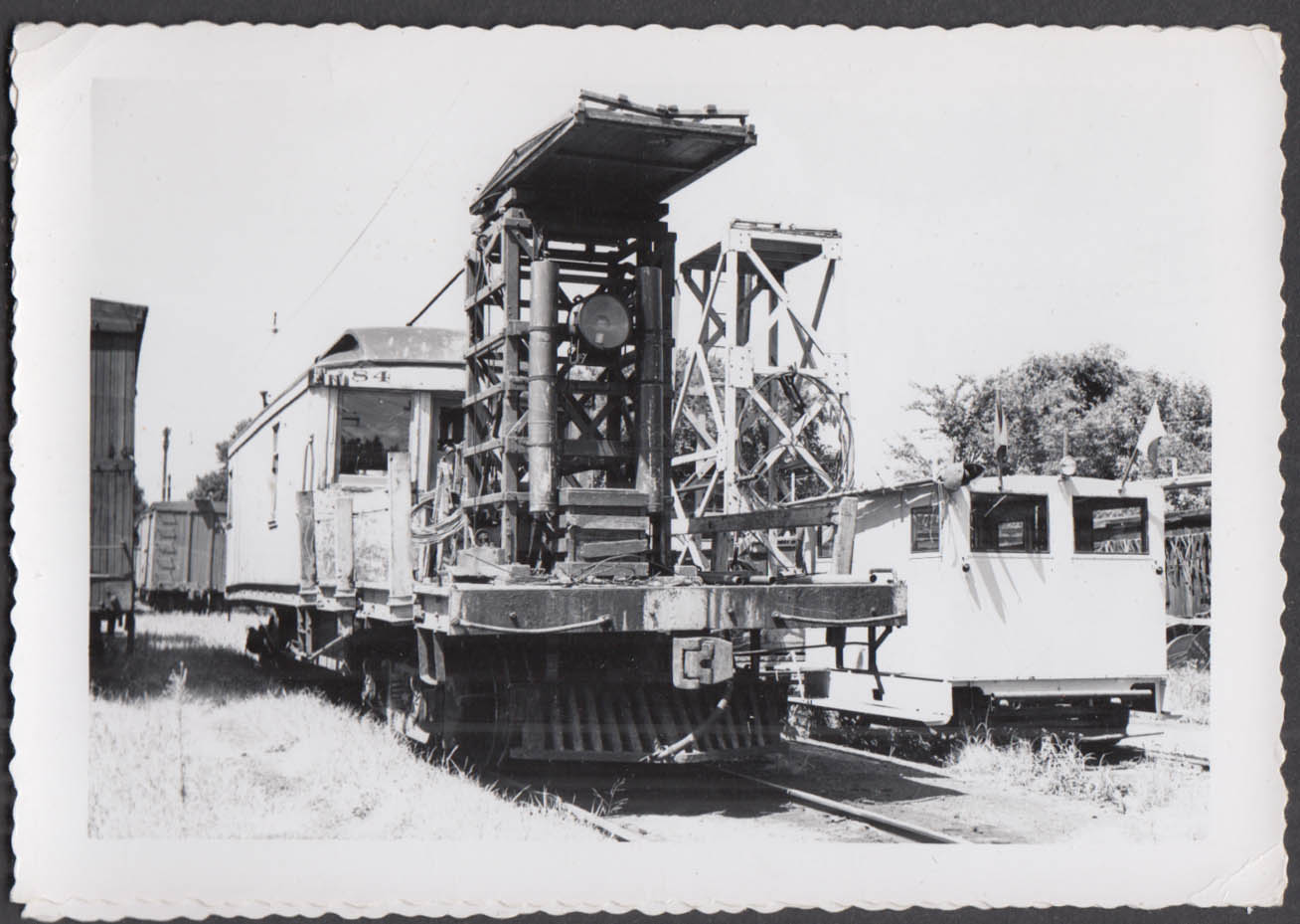 Image for Fort Dodge Des Moines & Southern Railway service car #84 photograph
