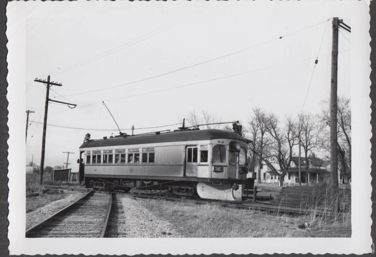 Image for Fort Dodge Des Moines & Southern Railway streetcar snowplow #82 photograph