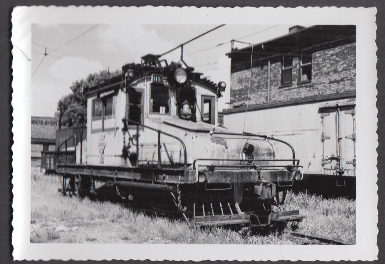 Image for Fort Dodge Des Moines & Southern Railway electric locomotive #115 photograph