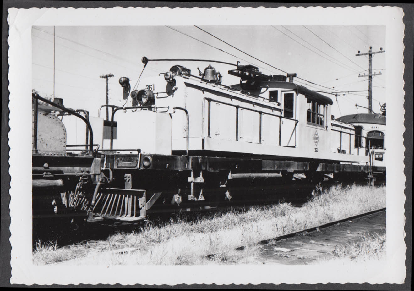 Image for Fort Dodge Des Moines & Southern Railway electric locomotive #361 photograph