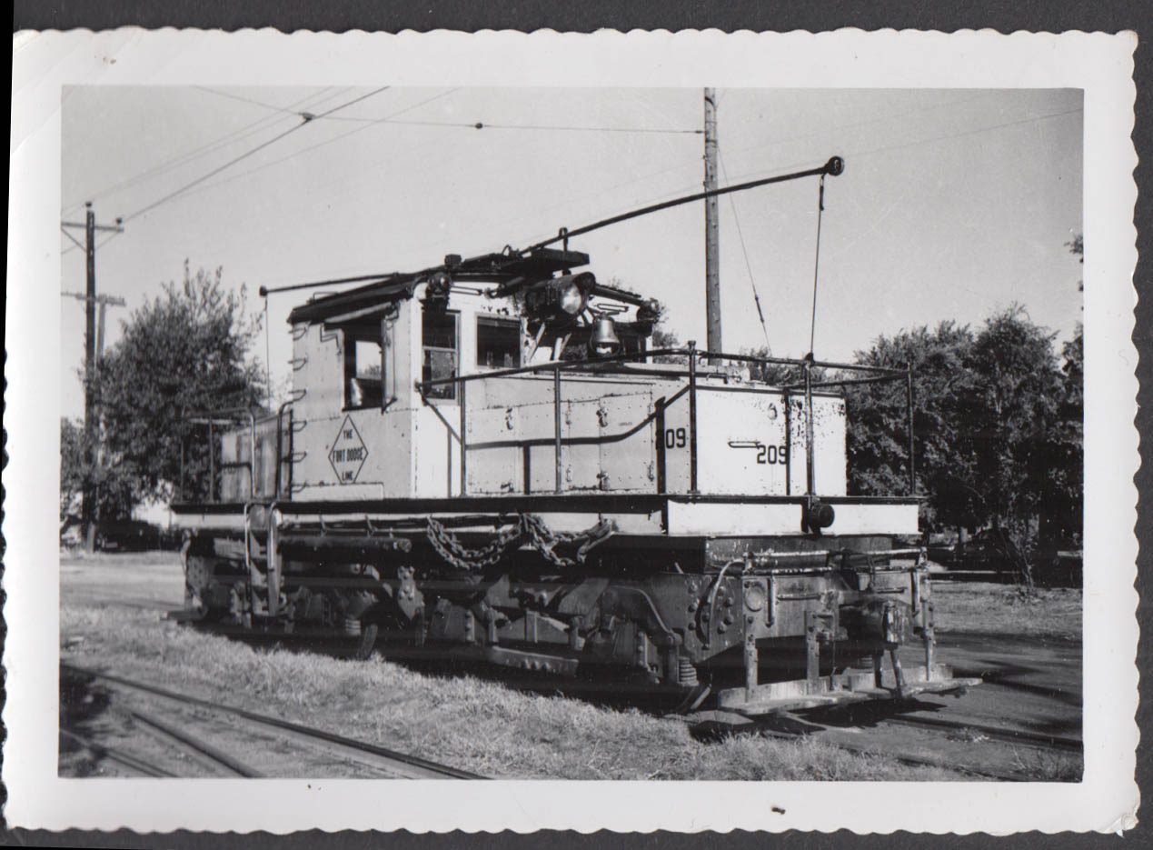 Image for Fort Dodge Des Moines & Southern Railway electric locomotive #209 photograph
