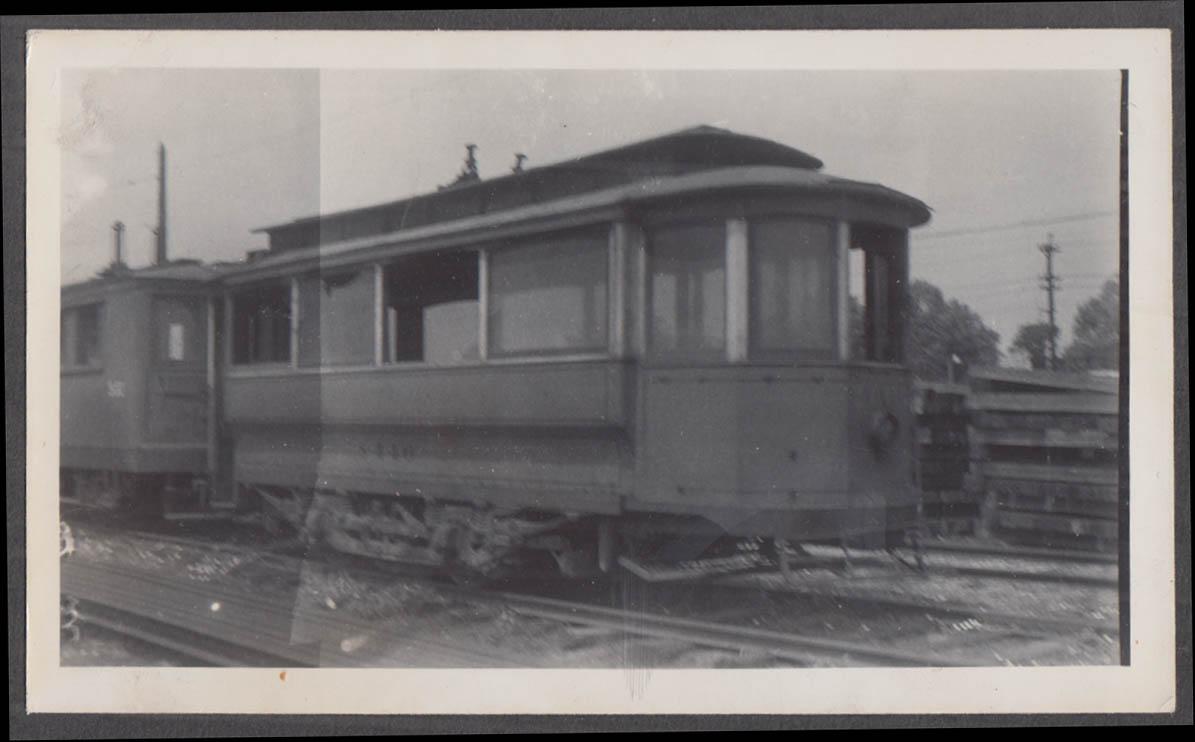 Image for Cincinnati Street Railway Work Car #S-446 at Cincinnati photograph 1941