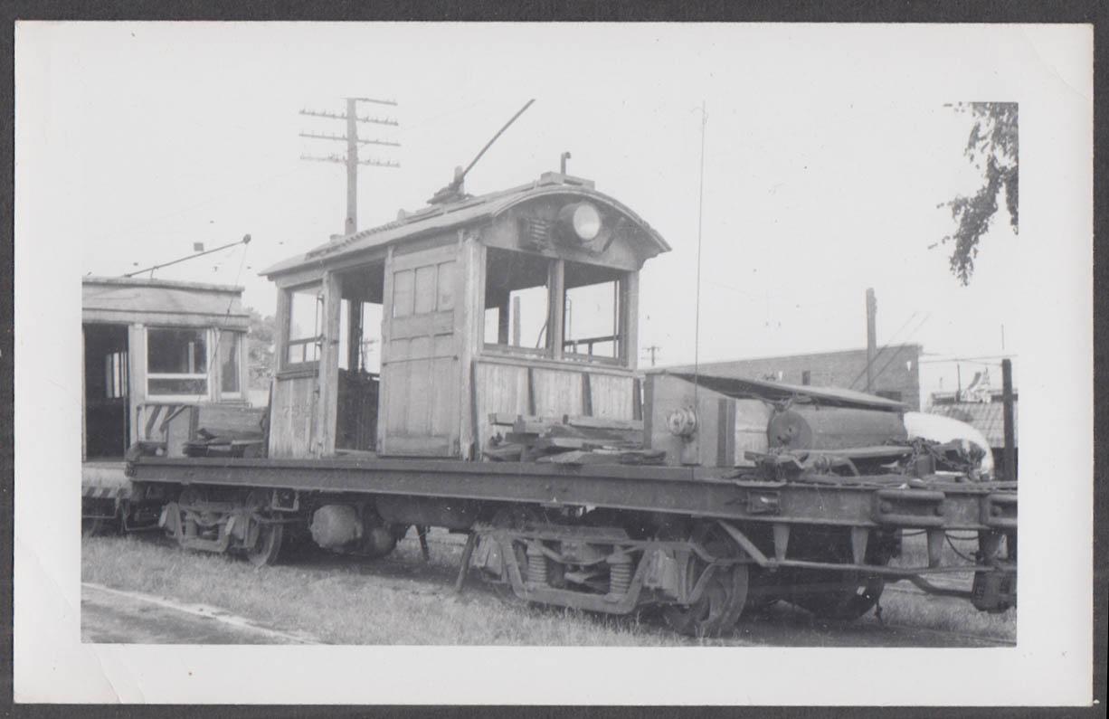 Image for Birmingham Electric Railway track service car #754 AL photograph