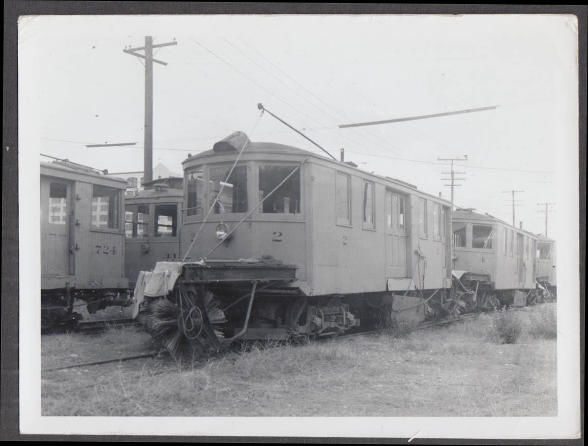 Image for Denver Tramway track sweeper car #2 Denver CO photograph
