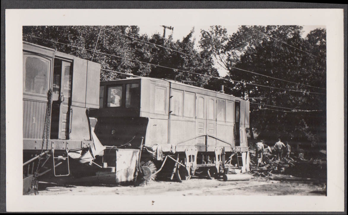 Image for Southern Pennsylvania Traction Co work car #2 at Chester PA photograph 1939