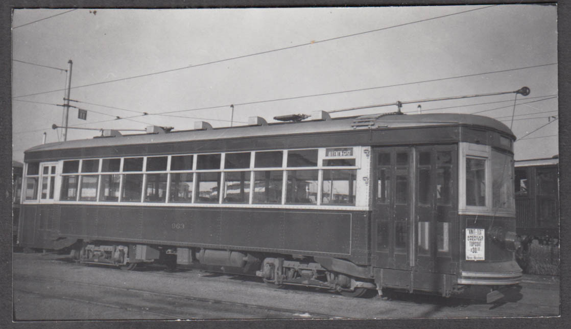 Image for Lehigh Valley Transit Car #963 Allentown-East Route photograph