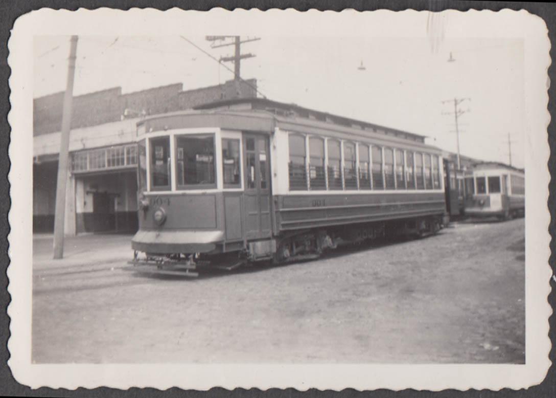 Image for Virginia Electric Power Company streetcar #904 at Richmond Car Barn photo 1944