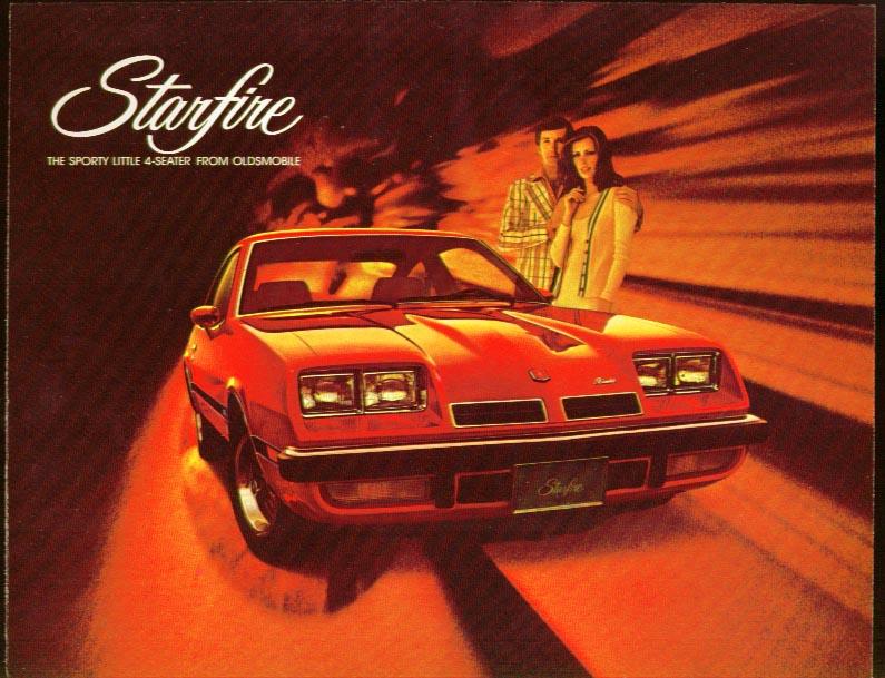 Oldsmobile GM Starfire sales folder 1970s