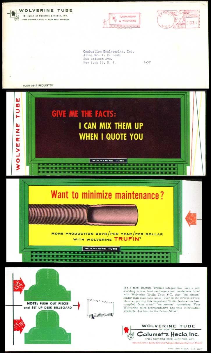 Image for Wolverine Tube desktop billboard 1950s? Give me the