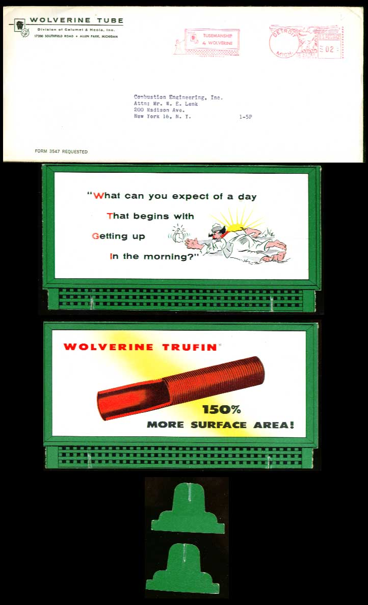 Image for Wolverine Tube desktop billboard 1950s? What can you