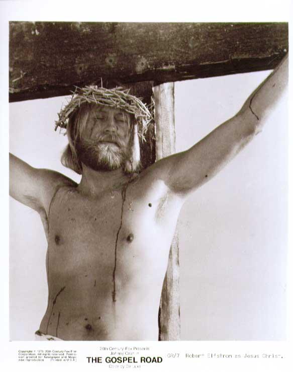 Robert Elfstron as Jesus: The Gospel Road 8x10 still 7