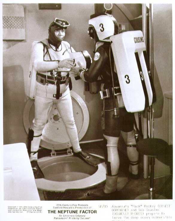 Ernest Borgnine Donnelly Rhodes: Neptune Factor 8x10 15