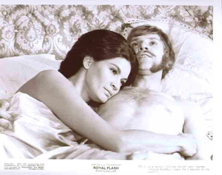Florinda Bolkan & Malcolm McDowell: Royal Flash 8x10 15