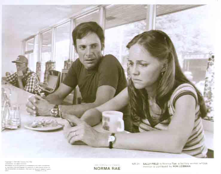 Sally Field & Rob Leibman in Norma Rae: 8x10 still 21