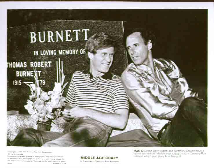 Bruce Dern Geoffrey Bowes Middle Age Crazy 8x10 pic 13