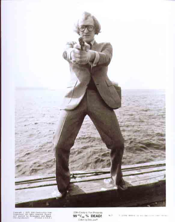 Richard Harris points gun 99 44/100% Dead! 8x10 still 7