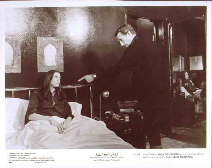 Roy Scheider Ann Reinking All That Jazz 8x10 still 29