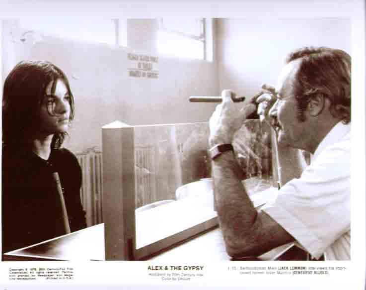 Jack Lemmon Genevieve Bujold Alex & the Gypsy 8x10 13