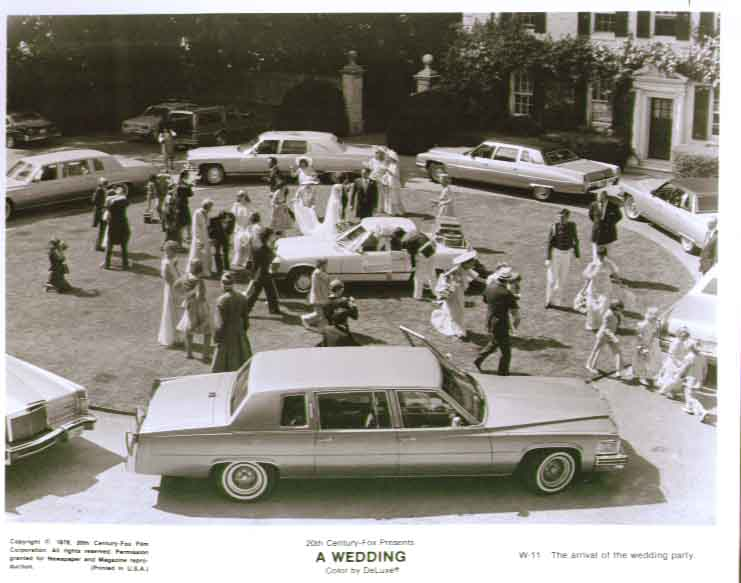A Wedding party arrival: 1978 8x10 still 11