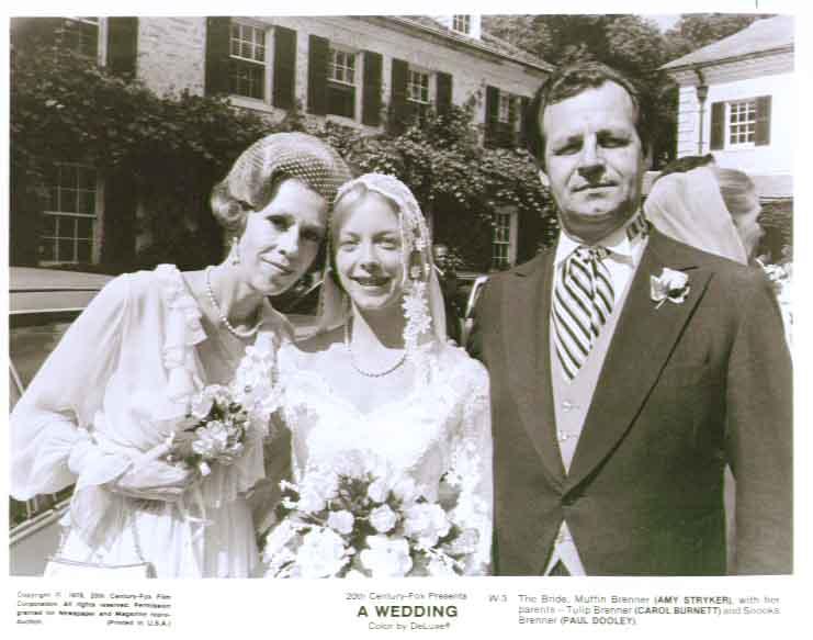 Amy Stryker, Carol Burnett: A Wedding 1978 8x10 still 3
