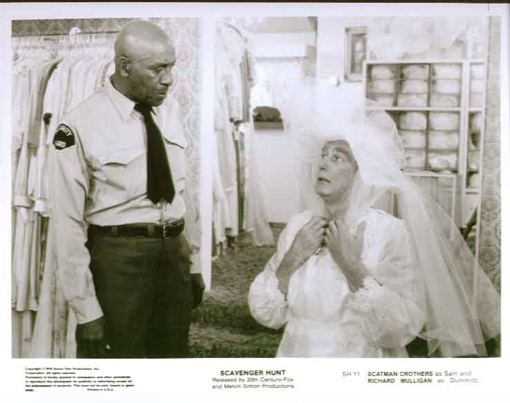 Richard Mulligan Scatman Crothers: Scavenger Hunt 8x10