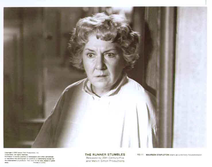 Maureen Stapleton in The Runner Stumbles: 8x10 still 11