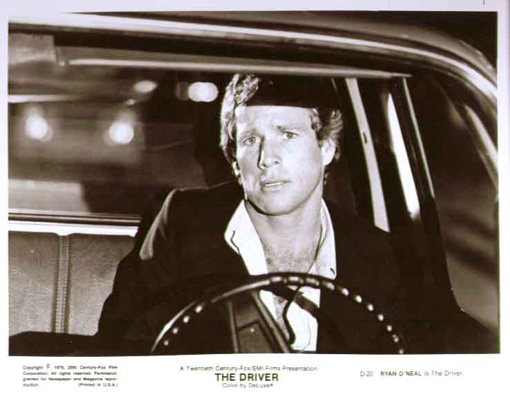 Ryan O'Neal as The Driver: 1976 8x10 still photo 20