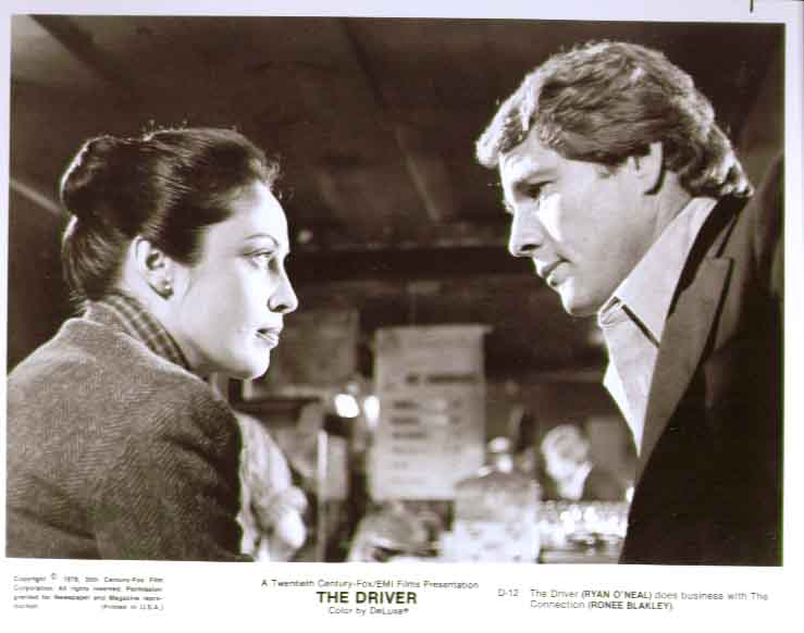 Ryan O'Neal & Ronee Blakely: The Driver 8x10 still 12