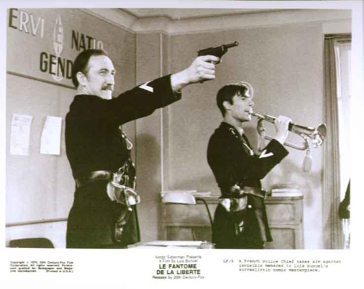 Police chief: Fantome de la Liberte 1974 8x10 photo 4