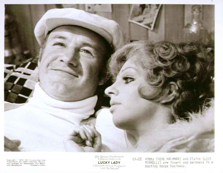 Gene Hackman Liza Minnelli Lucky Lady 1975 8x10 photo 22