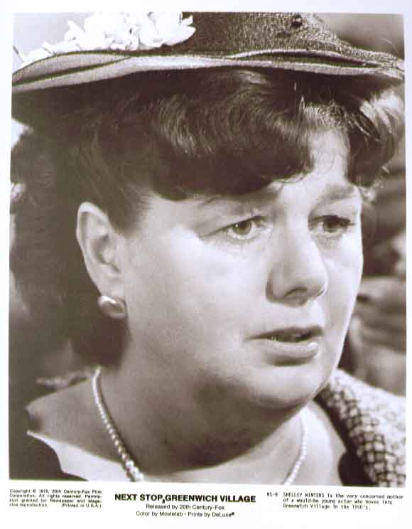 Shelley Winters: Next Stop Greenwich Village 8x10 photo 9