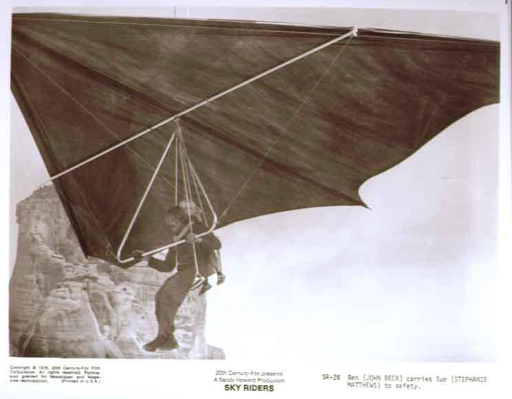 John Beck Stephanie Matthews: Sky Riders 8x10 photo 26