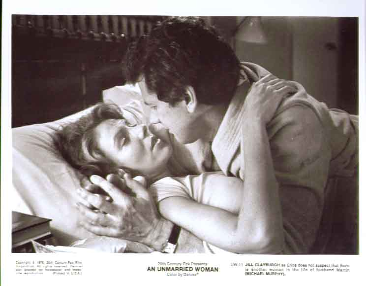 Jill Clayburgh Michael Murphy: An Unmarried Woman 8x10
