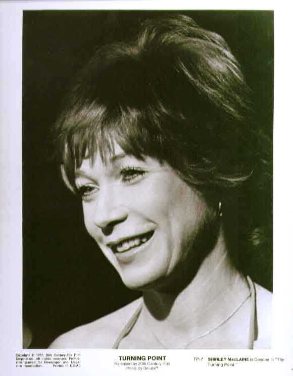Shirley MacLaine in Turning Point 1977 8x10 still 7