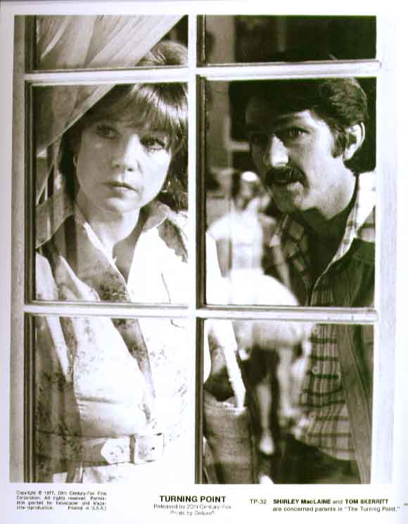 Shirley MacLaine Tom Skerritt Turning Point 8x10 pic 32