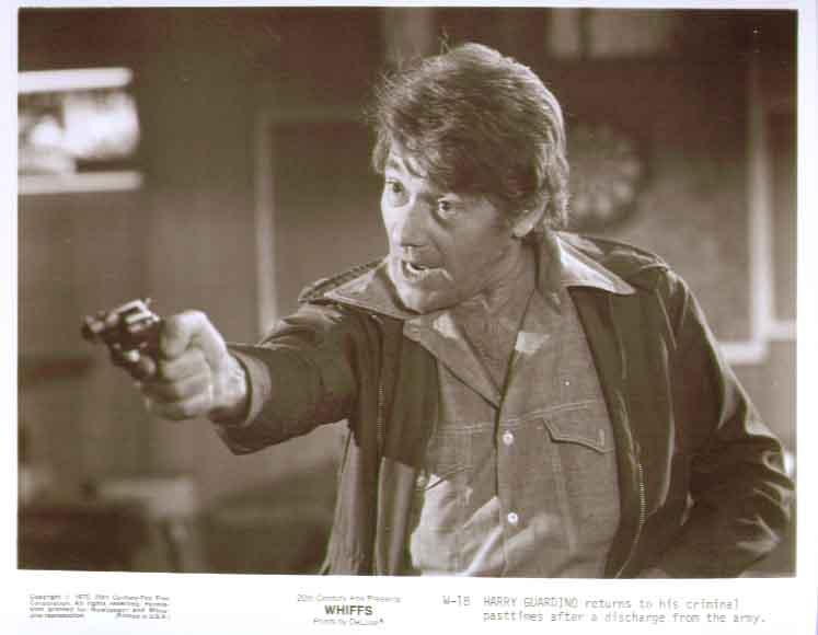 Harry Guardino in Whiffs: 1975 8x10 still 18