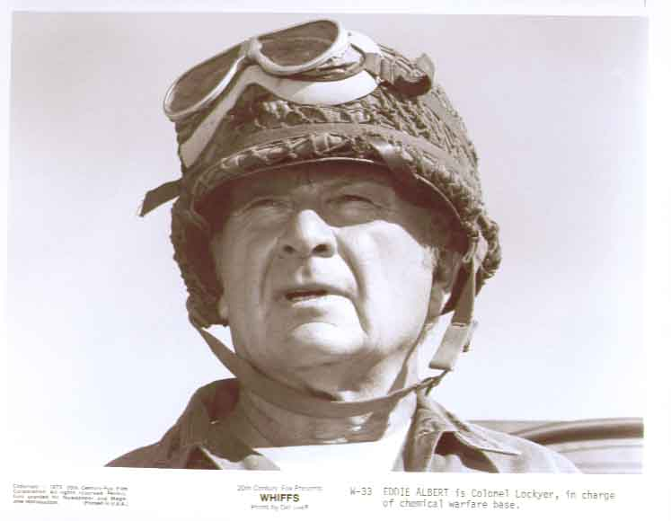 Eddie Albert as Col Lockyer: Whiffs 1975 8x10 still 33