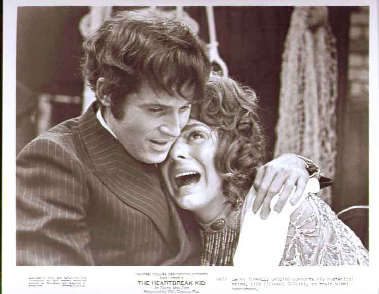 Charles Grodin Jeannie Berlin: Heartbreak Kid 8x10 7