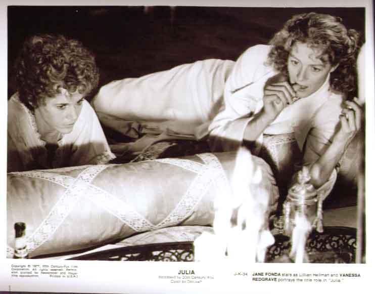 Jane Fonda & Vanessa Redgrave: Julia 1977 8x10 still 34
