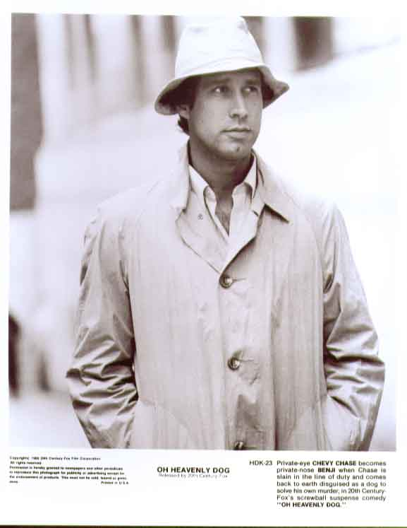 Chevy Chase: Oh Heavenly Dog 1980 8x10 still 23