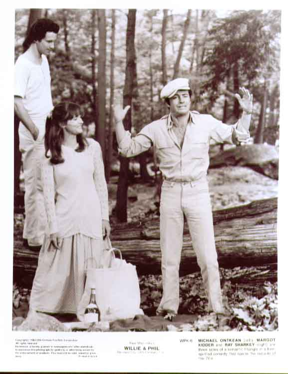 Margot Kidder Ray Sharkey Michael Ontkean: Willie & Phil 8x10 6