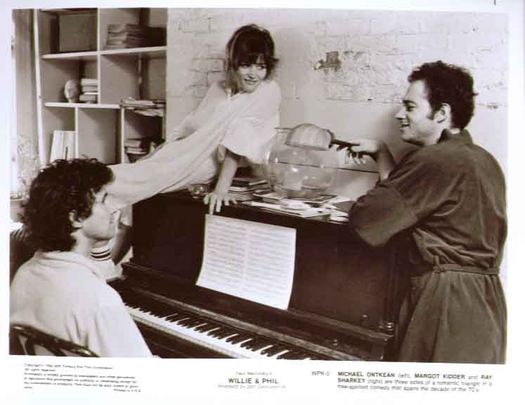 Margot Kidder Ray Sharkey Michael Ontkean: Willie & Phil 8x10 5